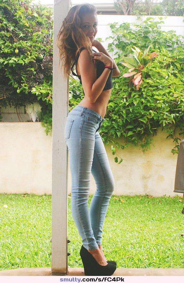 tight babe tiffany holiday with firm big boobs gets her cute face covered in cum #jeans, #smiling, #midriff, #eyecontact, #outdoors, #flatstomach, #longhair, #fit, #tightbody
