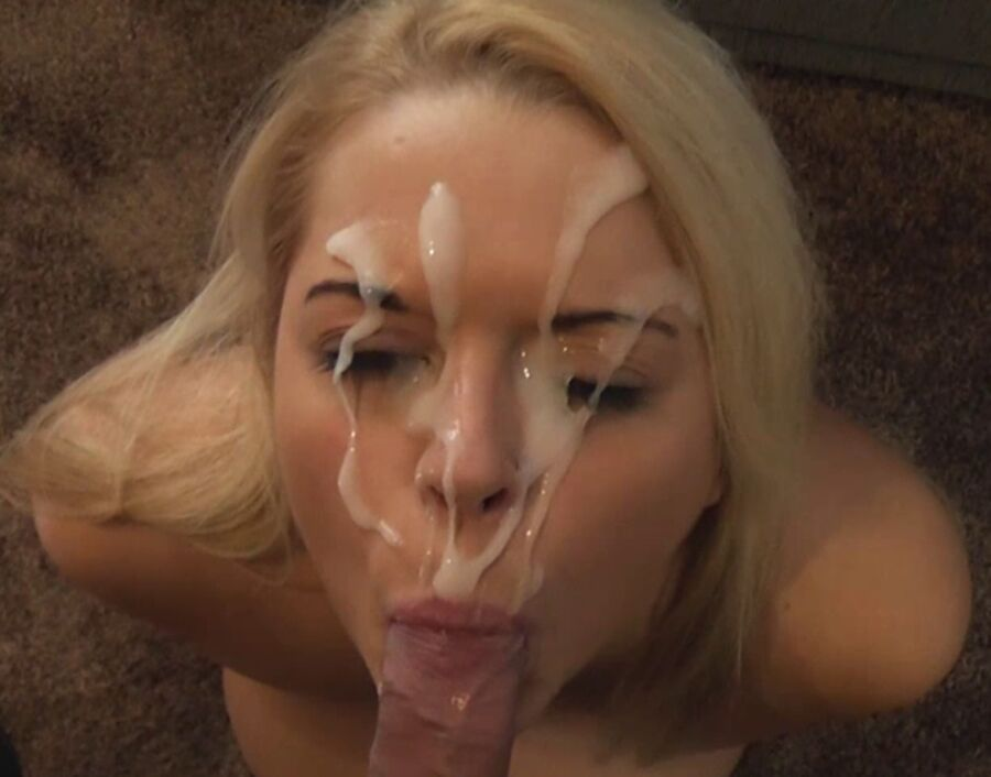 emo girl wildly sucking cock and eating cum porn tube video