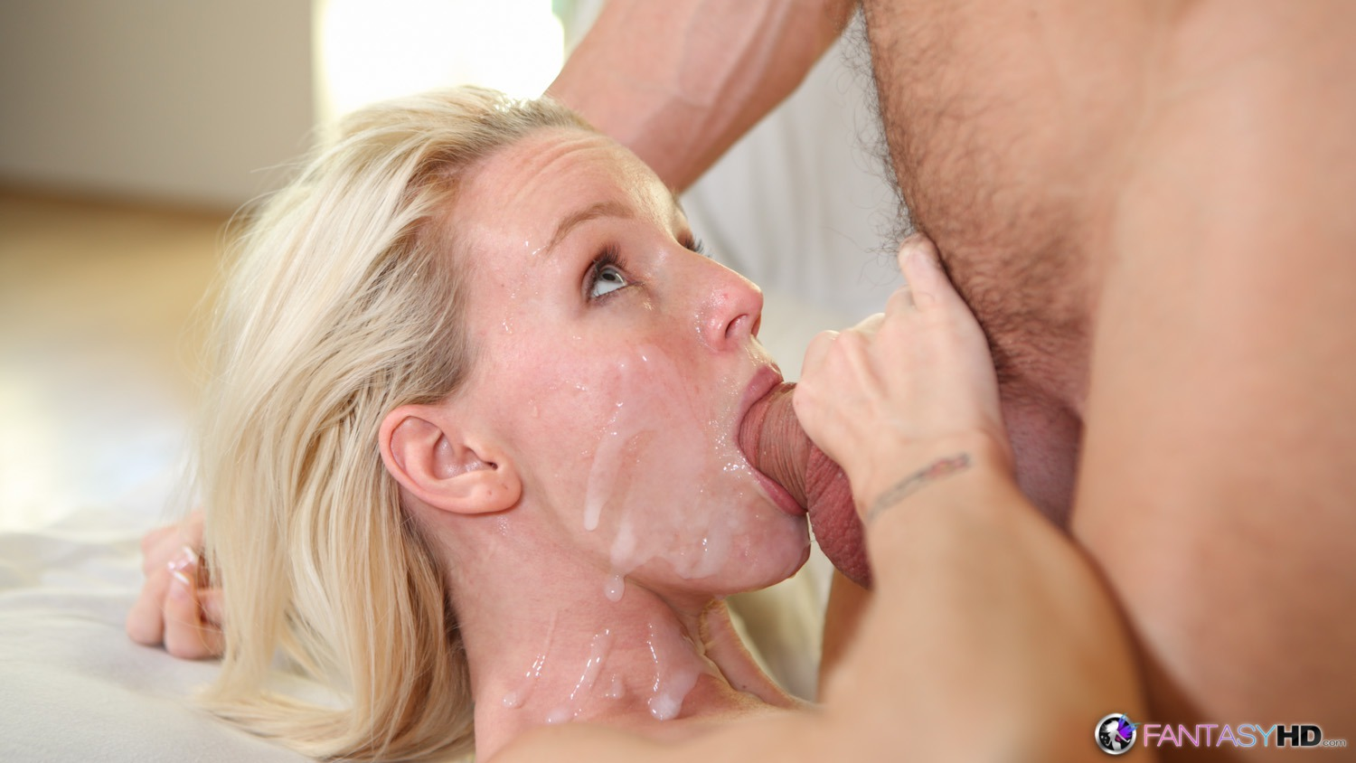 girl sees cum for the first time