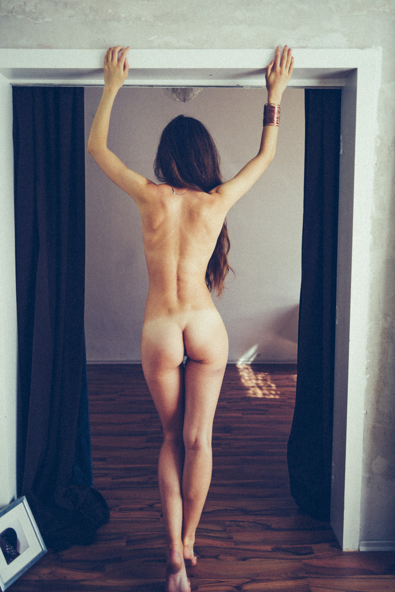 throw a dance party with gifs Gorgeous Erotic Photography Backside Slim Slender Smalltits Ass Greatass Dimples Nicelegs Waist Curly Attitude Disrobing