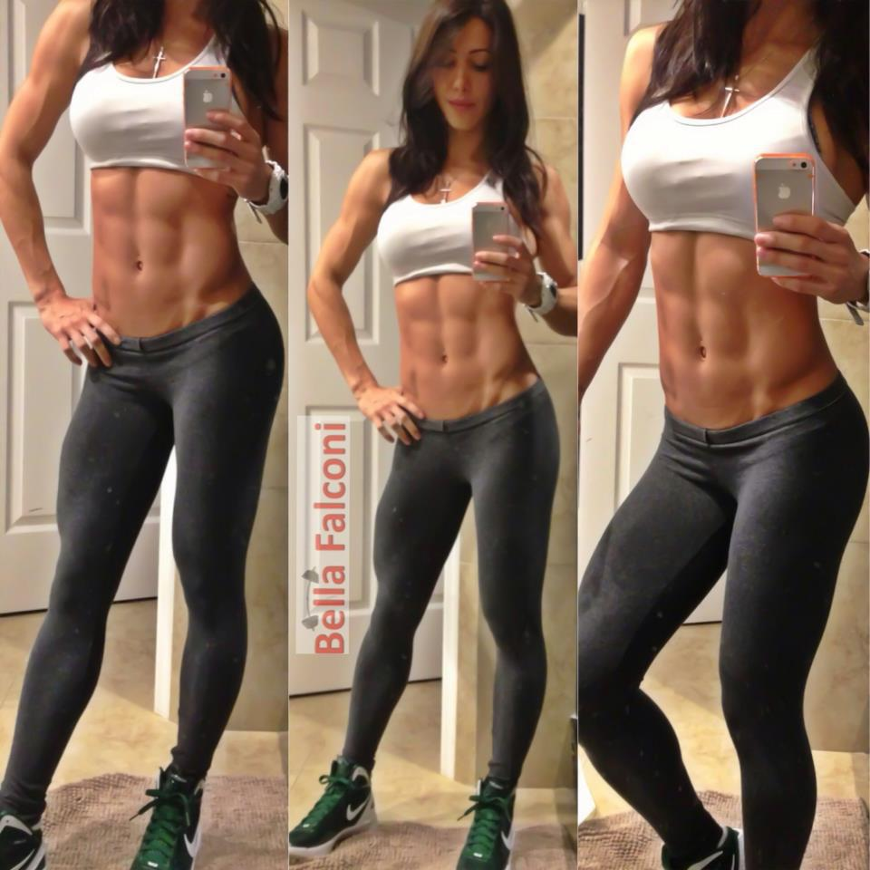 Hardbody Fit Fitness Abs Girlswithmuscle Muscle Sexy Athletic Nonnude Toned Tone BrittanyBishop