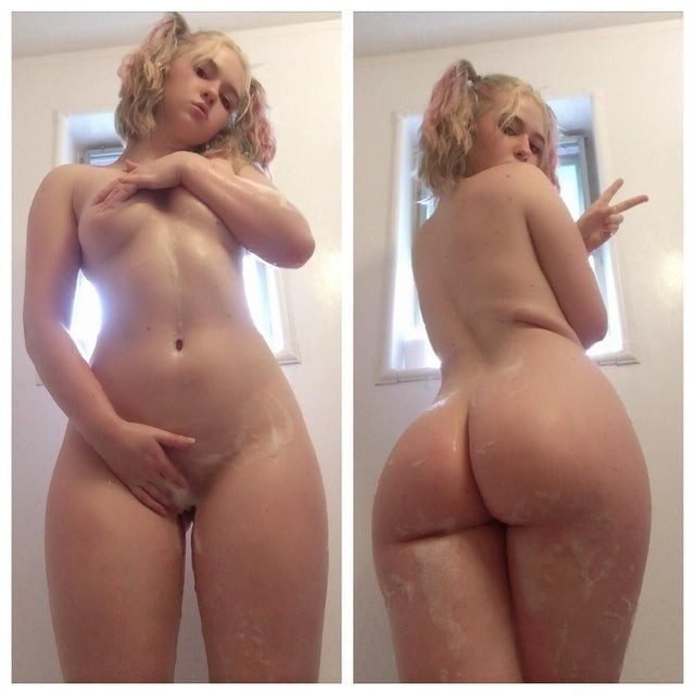 sexy mime chick fucking an invisible lover on cam