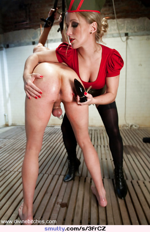 blonde diana gives a footjob to the husband